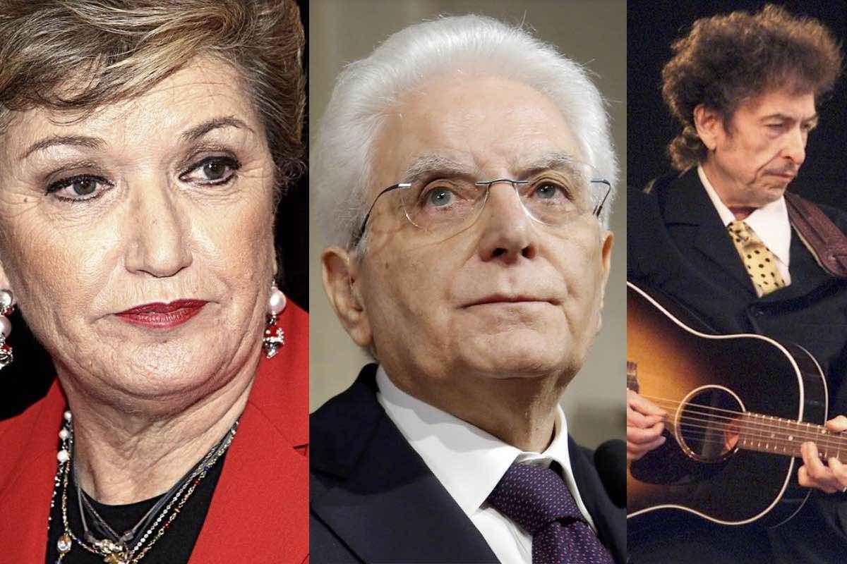 Mara Maionchi Mattarella Bob Dylan