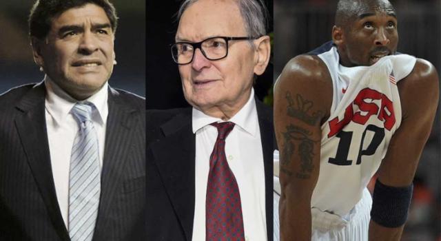 Le celebrità scomparse nel 2020: i lutti che hanno colpito il mondo