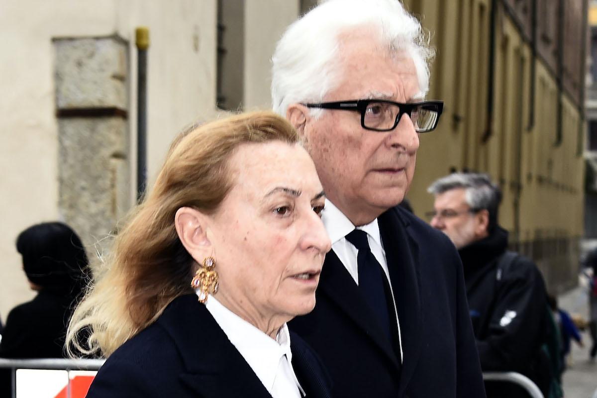 Miuccia Prada e Patrizio Bertelli