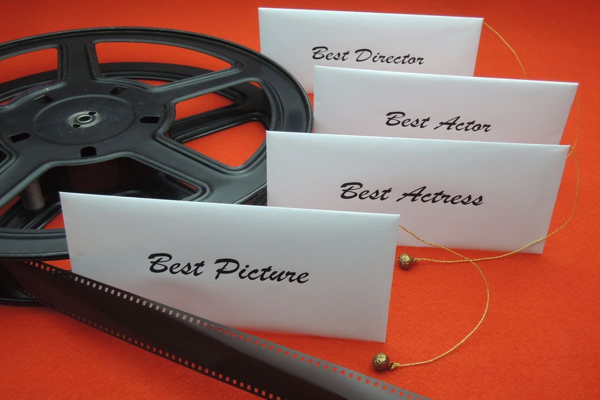 Buste vincitori concorso cinematografico