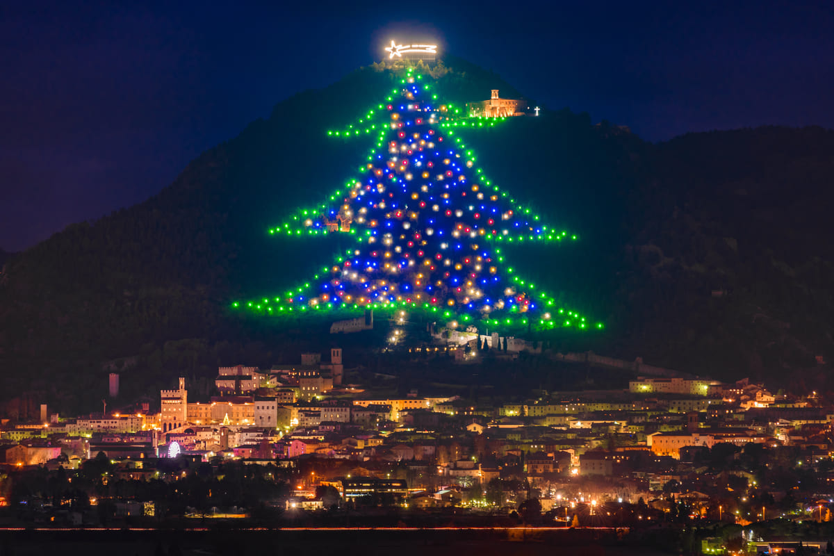 Alberto di Natale a Gubbio