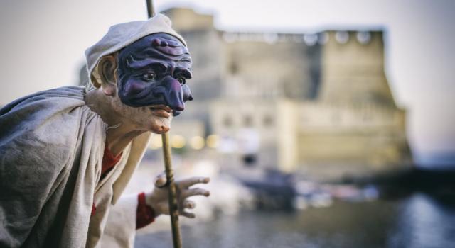 La storia e i segreti della maschera di Pulcinella