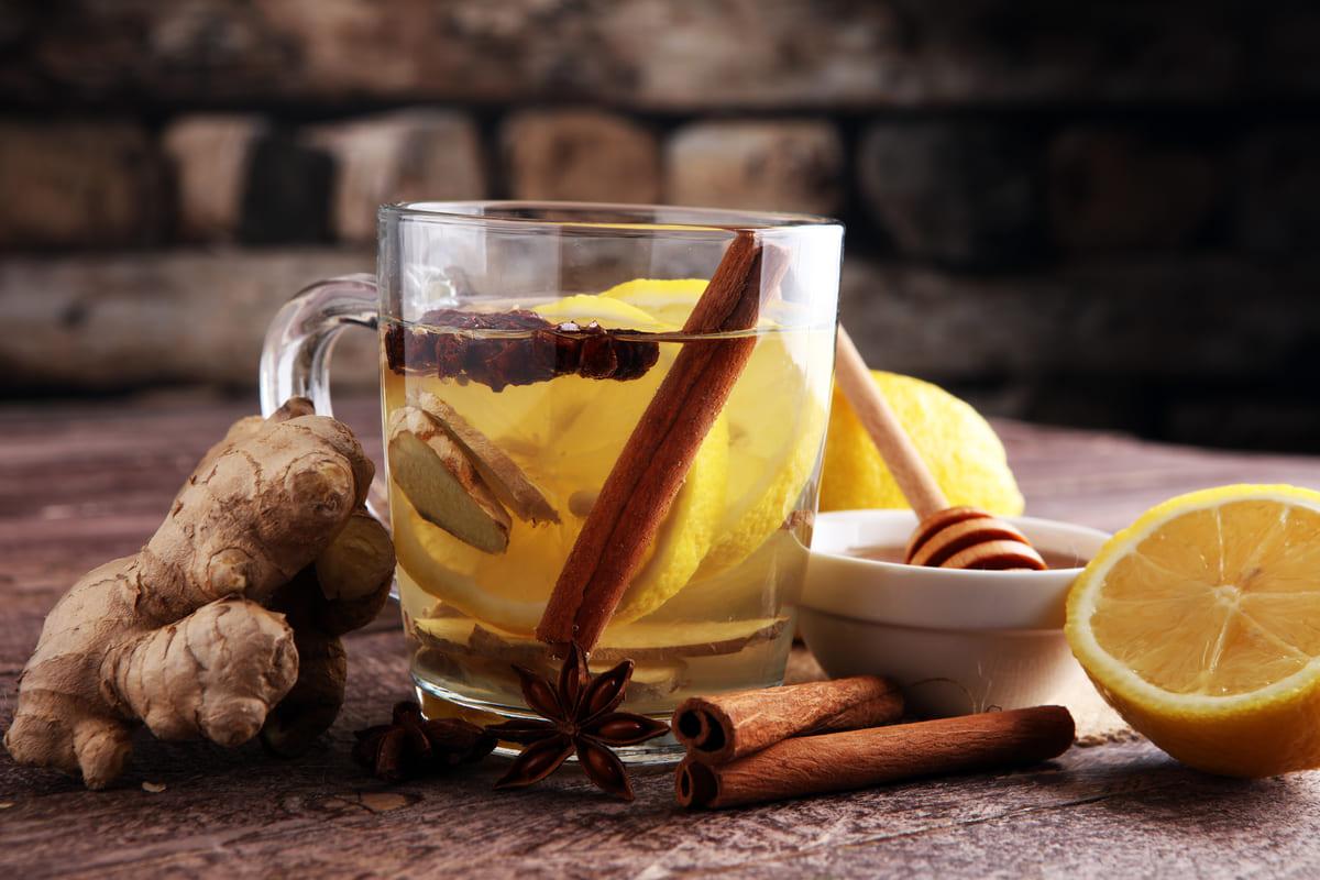 Tisana zenzero cannella e limone