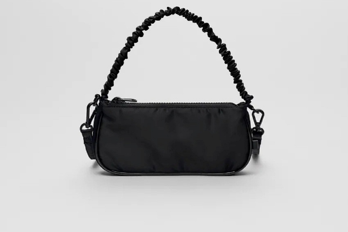 Borsa Zara a tracolla nera