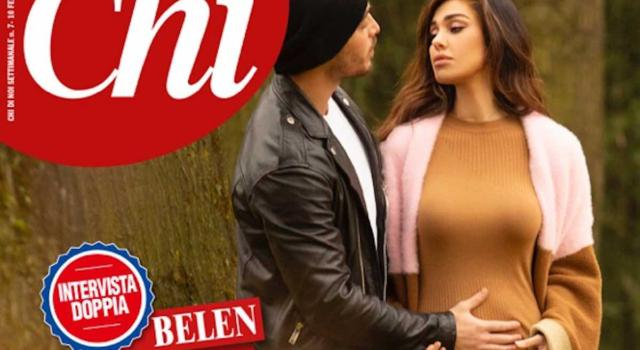 """Belen conferma: """"Sì, sono incinta"""". Si chiamerà Luna Marie"""