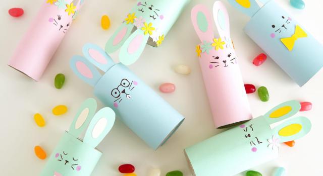 Come creare un coniglio di Pasqua con un lavoretto veloce e divertente