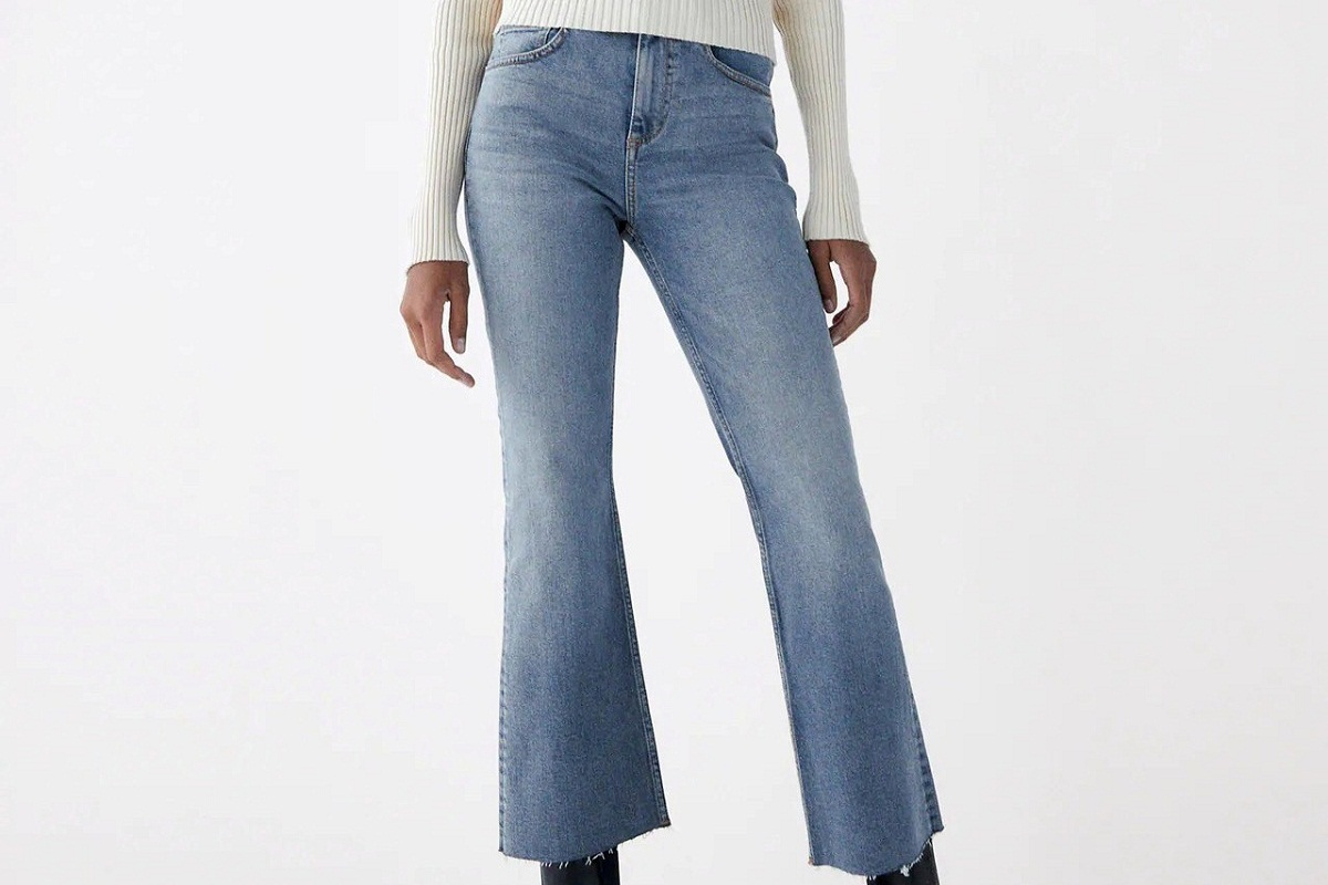 Jeans Cropped Zara