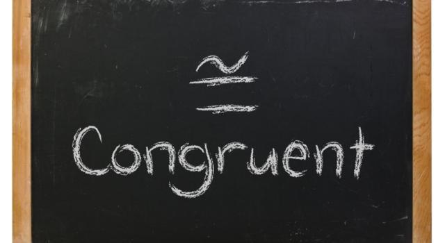 Cosa significa congruente?