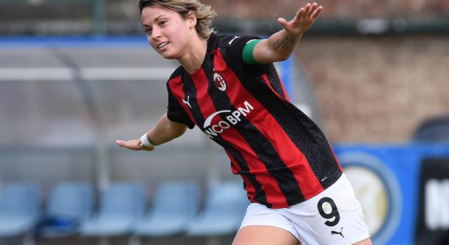 Tutto su Valentina Giacinti, attaccante del Milan Femminile e della Nazionale