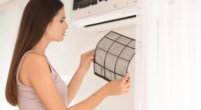 Pulire i filtri dei condizionatori: come fare in modo semplice e veloce