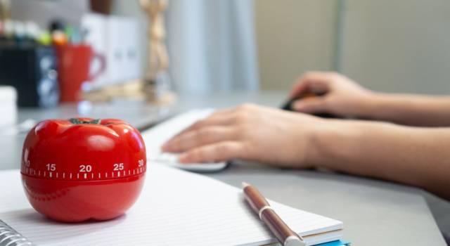 Tecnica del pomodoro: cos'è e perché è efficace