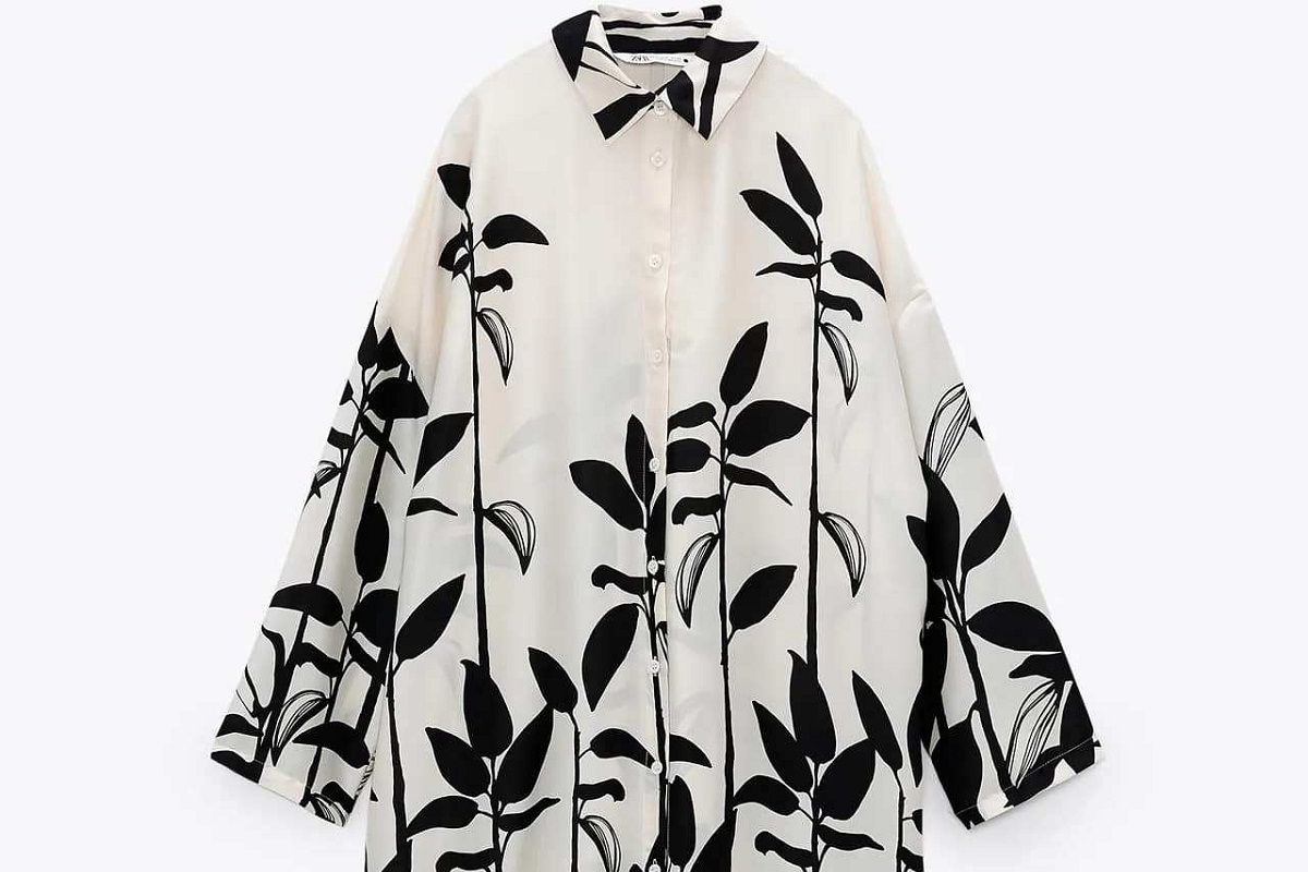 Vestito oversize Zara