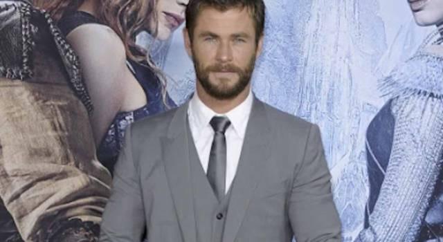 Chris Hemsworth ironizza sui tifosi dell'Inter a Milano: 'In realtà festeggiavano me'