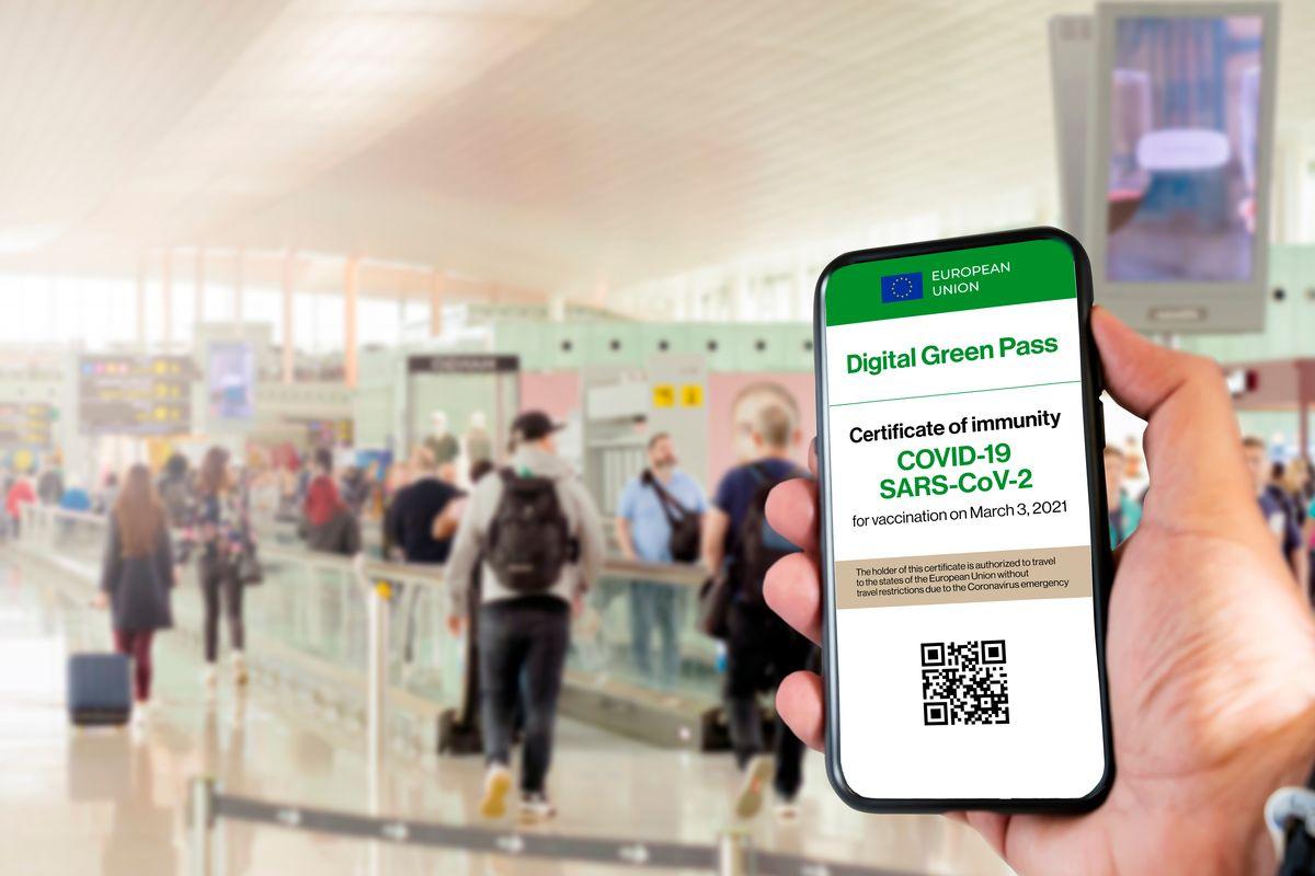 Green Pass digitale con codice QR