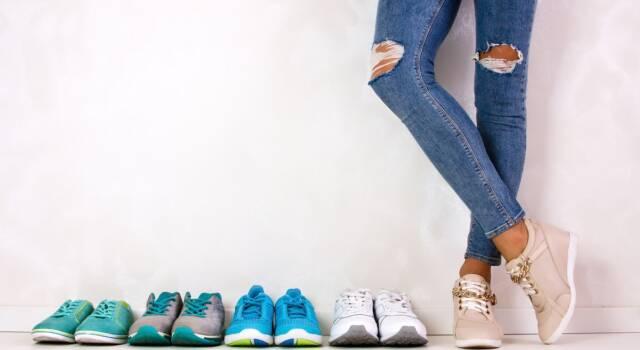 Scarpe Primadonna, come vestono
