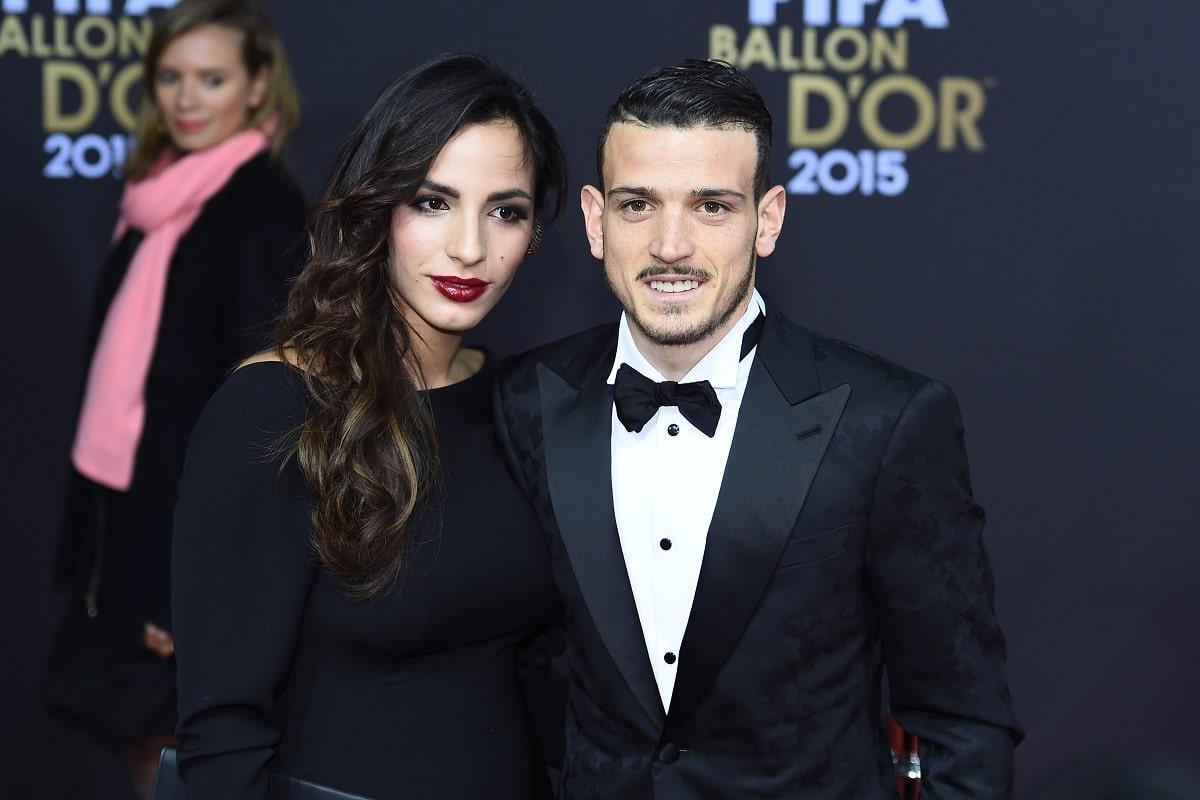 Alessandro Florenzi e Ilenia Atzori