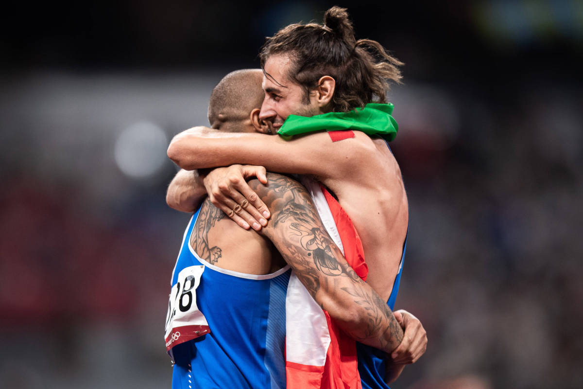 Gianmarco Tamberi e Marcell Jacobs