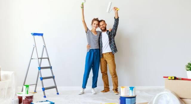 Imbiancare casa: come pitturare l'abitazione senza commettere errori