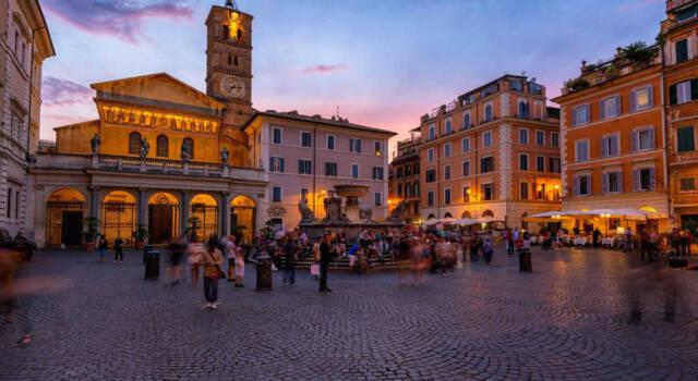 Roma: una porchetta a Trastevere scatena l'ira degli animalisti