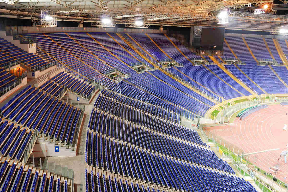stadio posti sedute