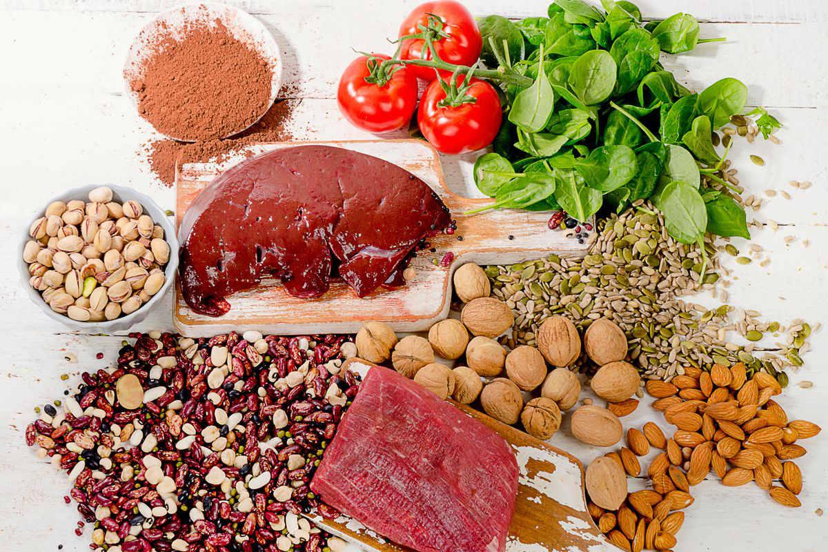 cibo verdura frutta secca carne