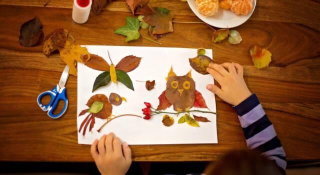 Tante idee per creare lavoretti con le foglie