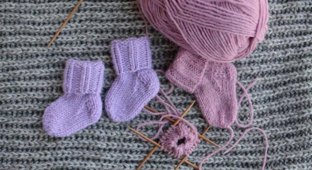 Tante idee da cui partire per i lavori a maglia per neonati