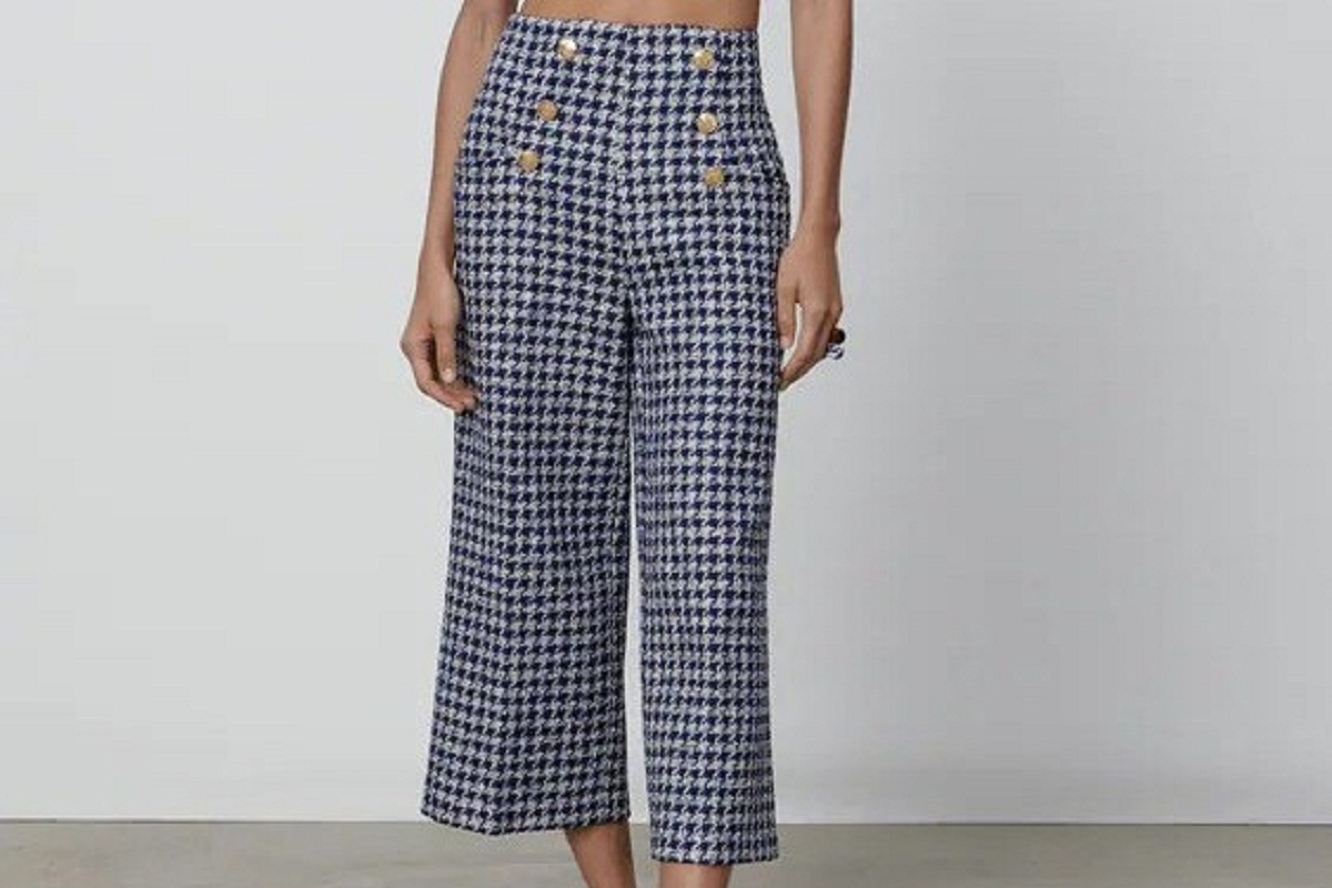 Pantalone cropped Zara