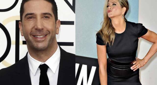 """Jennifer Aniston e David Schwimmer stanno insieme"": lo scoop"