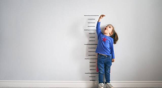 Altezza dei bambini: ecco quali sono i valori medi in base all'età