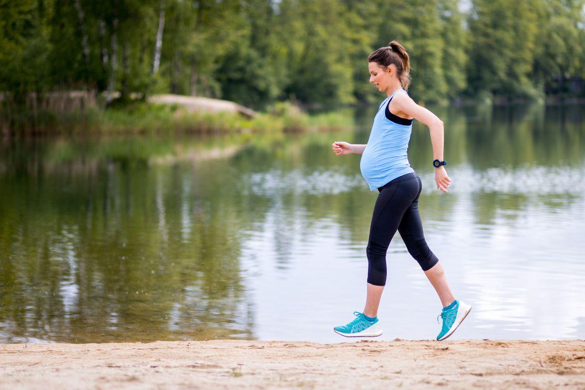 Corsa in gravidanza
