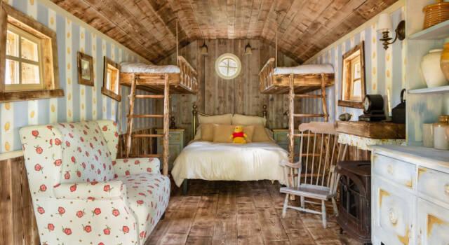 La casa di Winnie The Pooh approda su Airbnb: ecco come funziona
