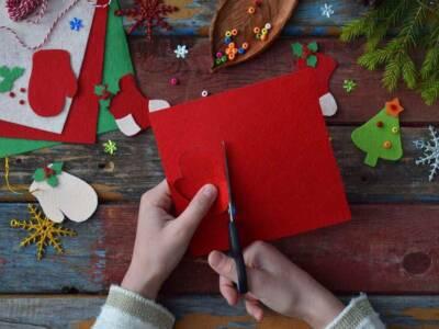 Decorazioni natalizie in feltro: idee creative e semplici da realizzare
