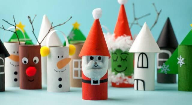 Lavoretti di Natale con materiale riciclato: idee creative per tutti i gusti