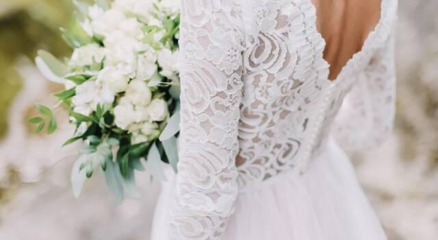 L'abito da sposa: sobria eleganza ad effetto meraviglia, così piace all'Haute Couture