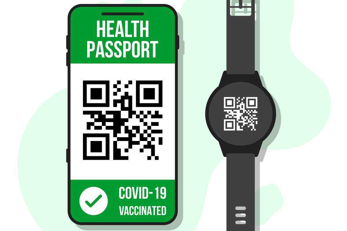 green pass smartwatch