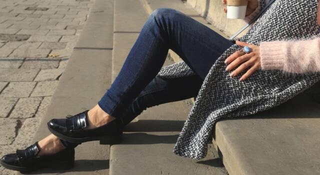 Mocassino nero, I love you! Ecco perché è la scarpa più trendy dell'autunno/inverno 2021